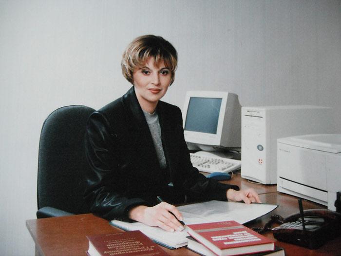 Адвокат на рабочем месте
