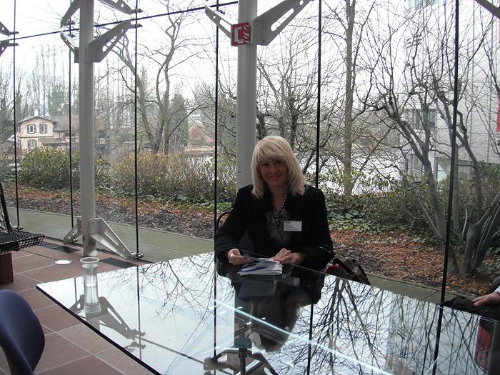 В здании Европейского Суда по правам человека, Страсбург