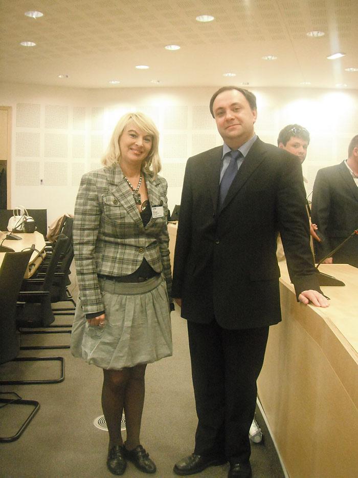 Адвокат Стефанишина С.В. с адвокатом Кипнис Н.М.